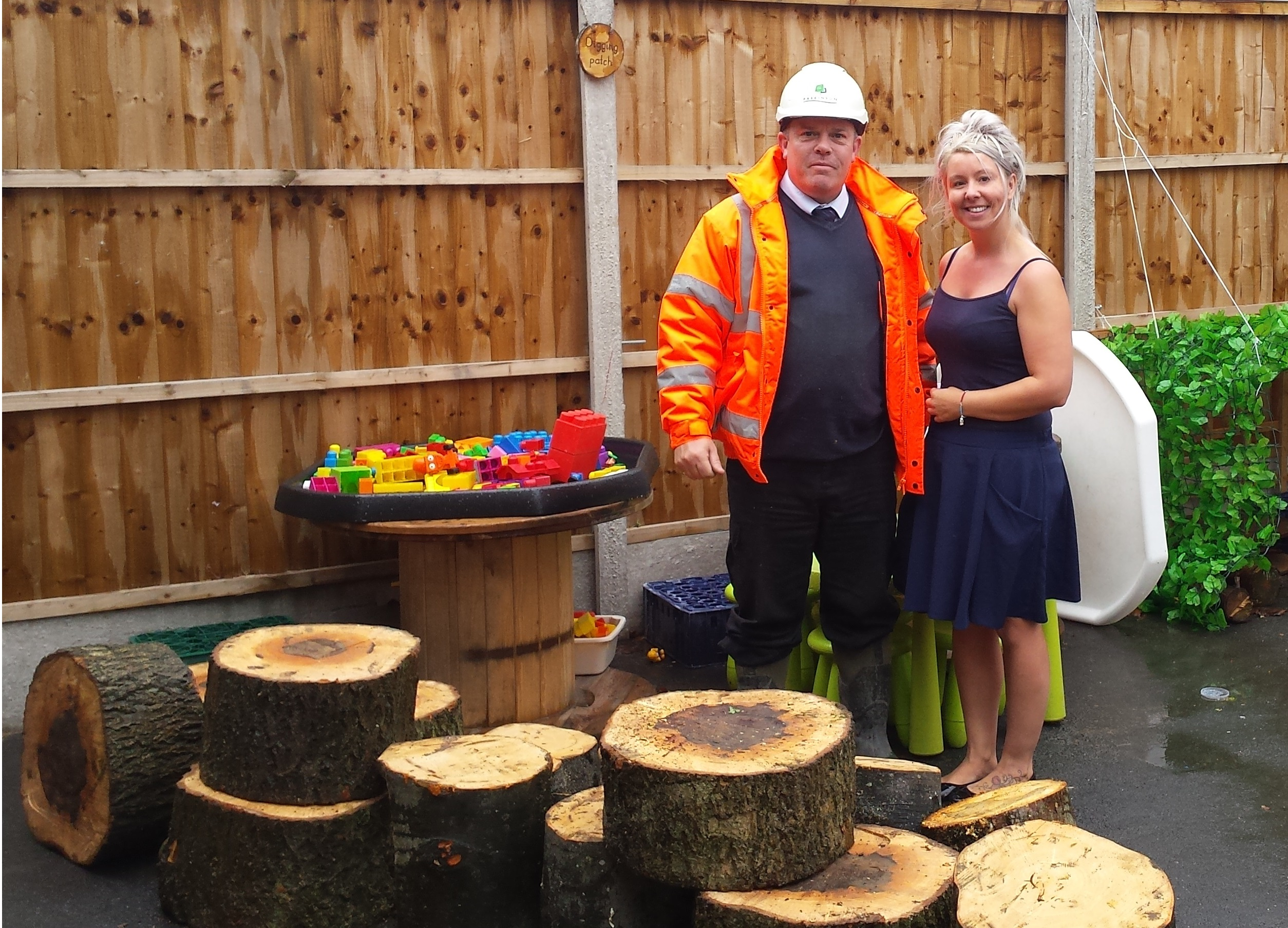 Donation Of Tree Stumps To A Local