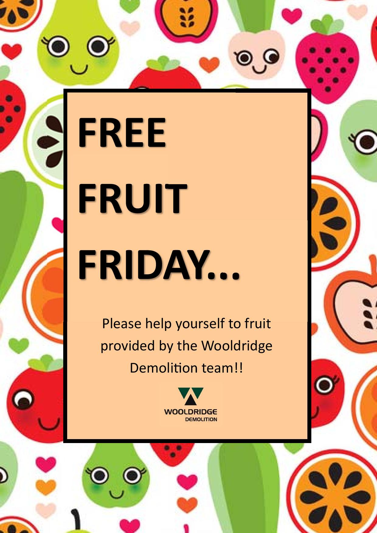 free fruit friday best practice hub