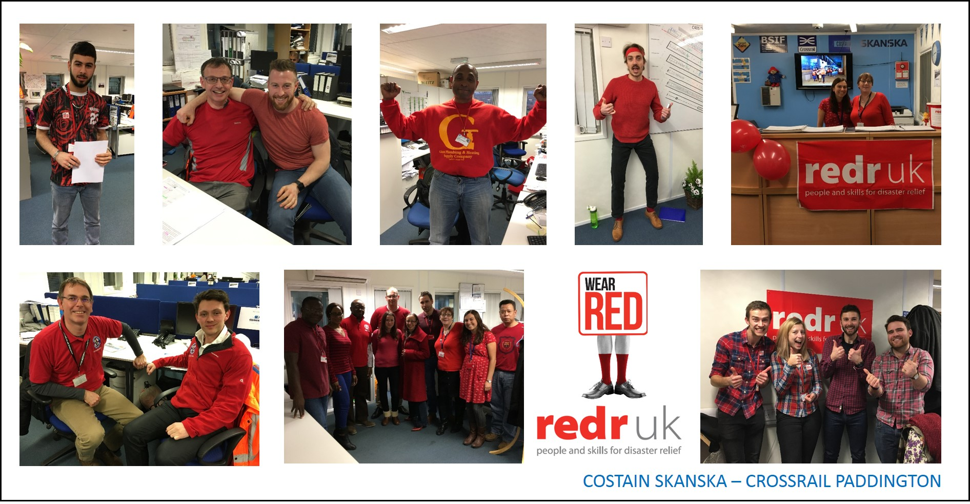 wear red for redr best practice hub