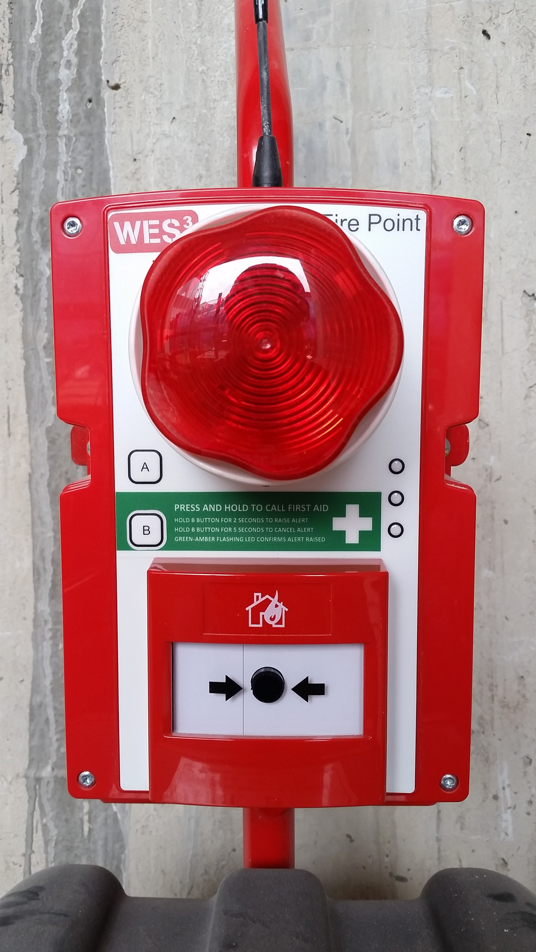 Site First Aid Call Points Added To Fire Alarm System Best Practice Hub