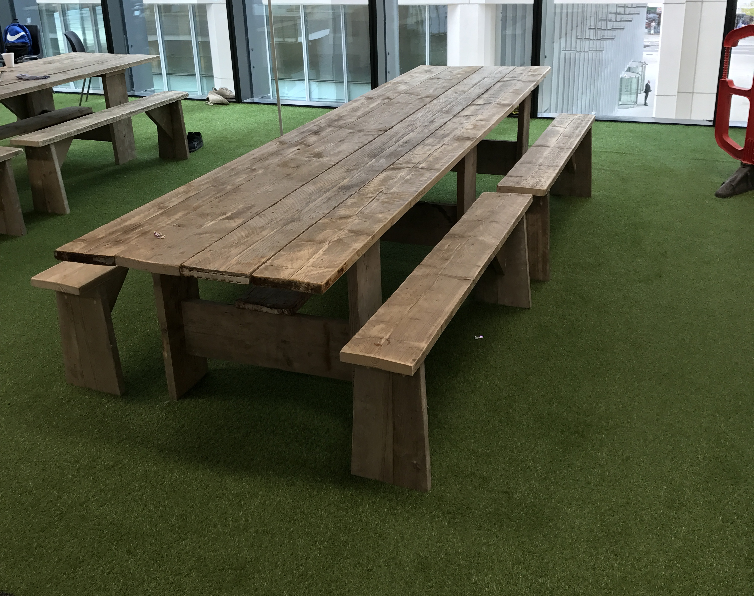 » Recycled scaffolding board furniture Best Practice Hub