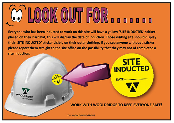 Site Induction Stickers Best Practice Hub